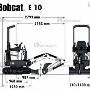 bobcat-e10 size
